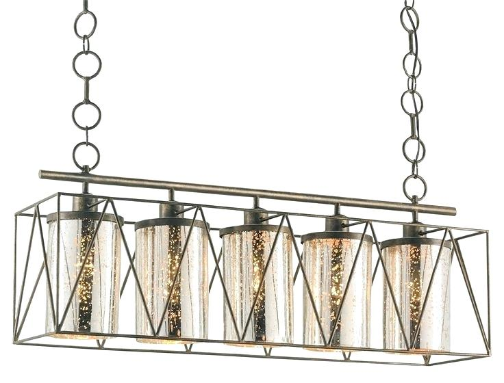 currey company lights and company five light rectangular chandelier finish
