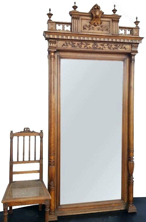 large antique mirror antiques atlas large antique mirror