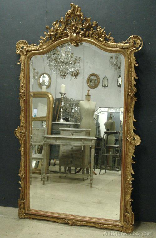 large antique mirror large antique french mirror