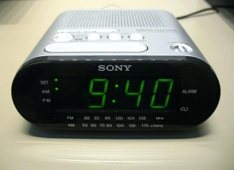 sony dream machine clock digital radio alarm clock dream machine model number