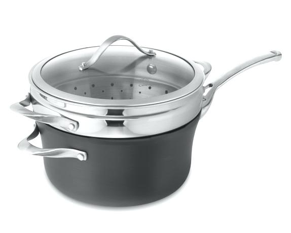 steamer pan contemporary nonstick saucepan with lid steamer