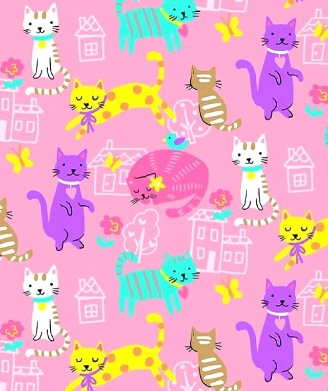 cat fleece fabric house cats allover fleece fabric