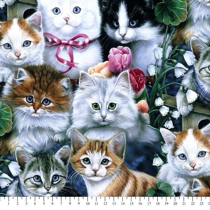 cat fleece fabric