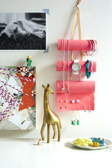cute jewelry holder tube crafts jewelry holder