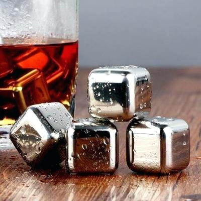 stainless steel ice cubes stainless steel reusable ice cubes