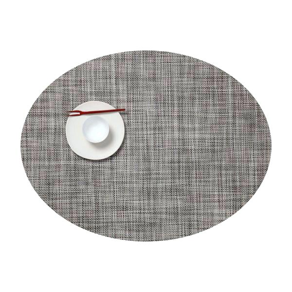 chilewich oval placemats gravel mini runner by vertigo home