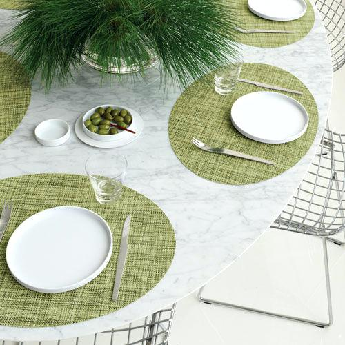 chilewich oval placemats mini