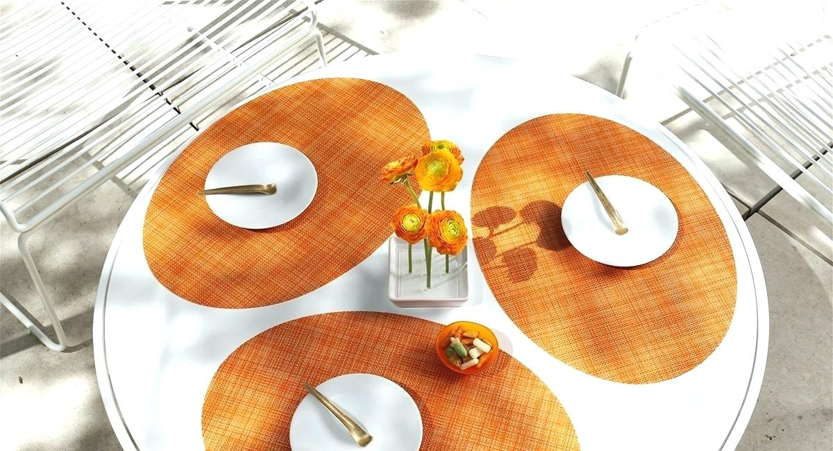 chilewich oval placemats oval mini in clementine oval home decor ideas app