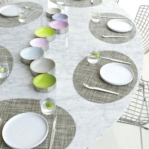 chilewich oval placemats oval mini