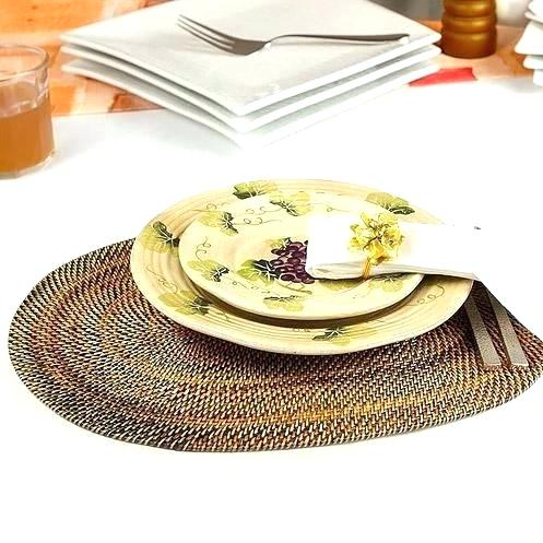 chilewich oval placemats oval woven rattan oval mini oval oval