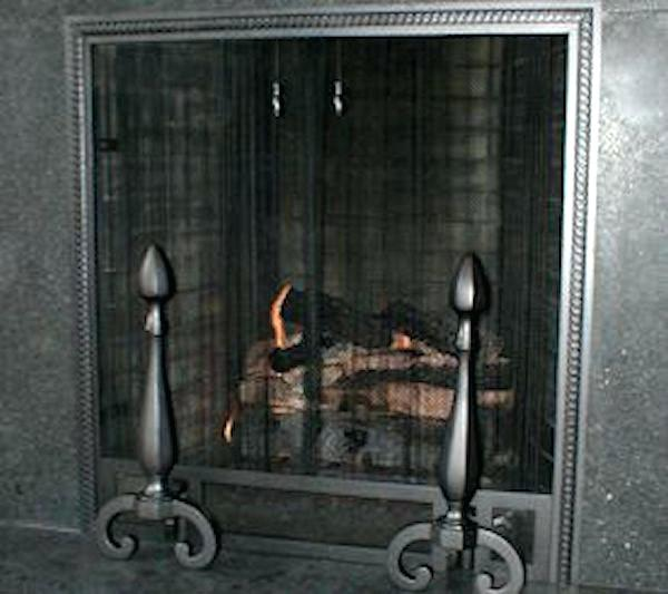 hanging fireplace screen custom fireplace hanging screen
