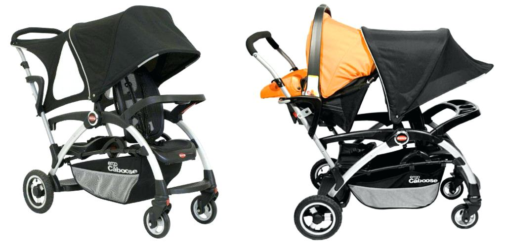 joovy caboose sit and stand ergo caboose double stroller