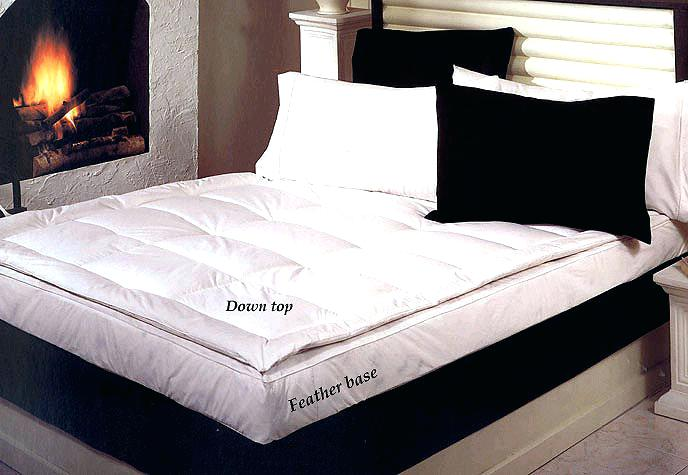 featherbed cover 5 down feather bed