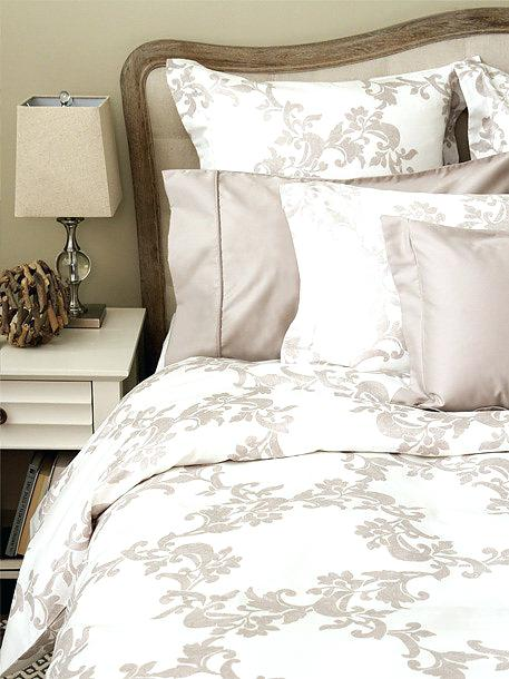featherbed cover cotton pattern sateen finish cover