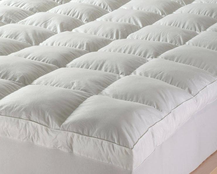 featherbed cover feather mattress topper