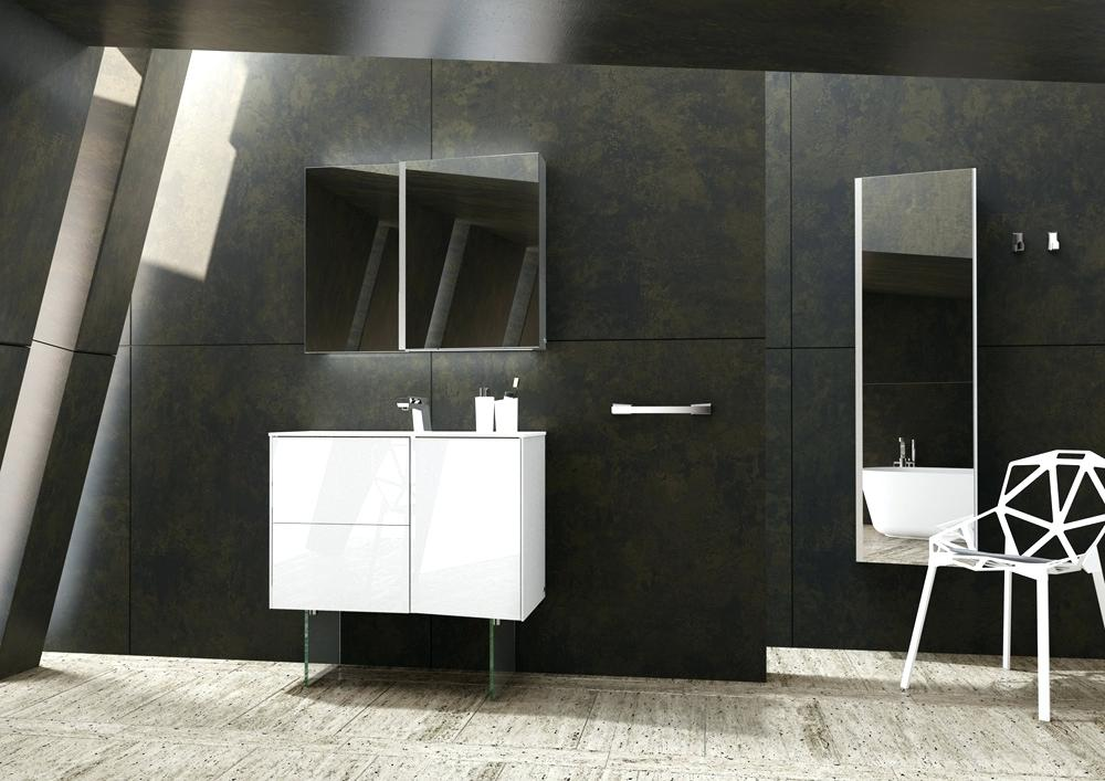 sonia vanities fractal collection free standing console