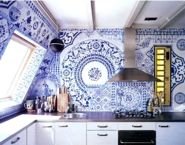 blue white kitchen blue white kitchen idea