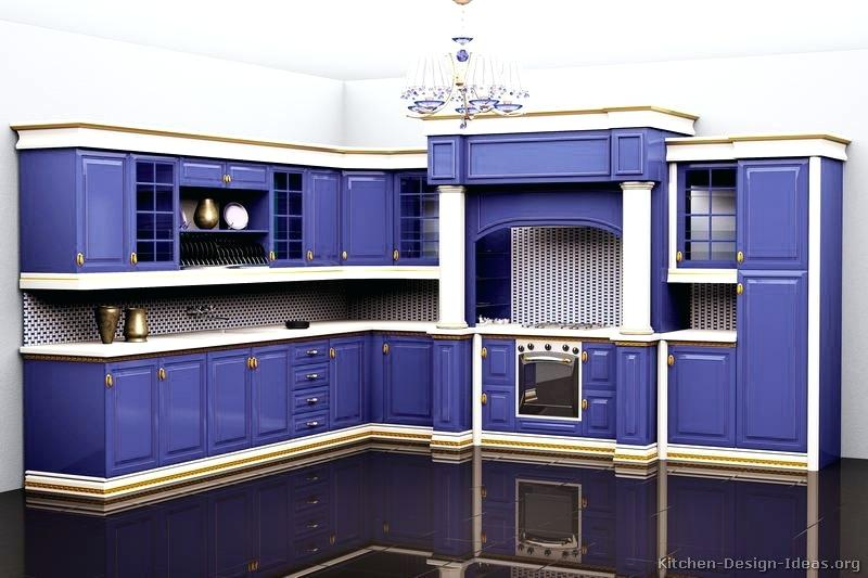 blue white kitchen traditional blue kitchen