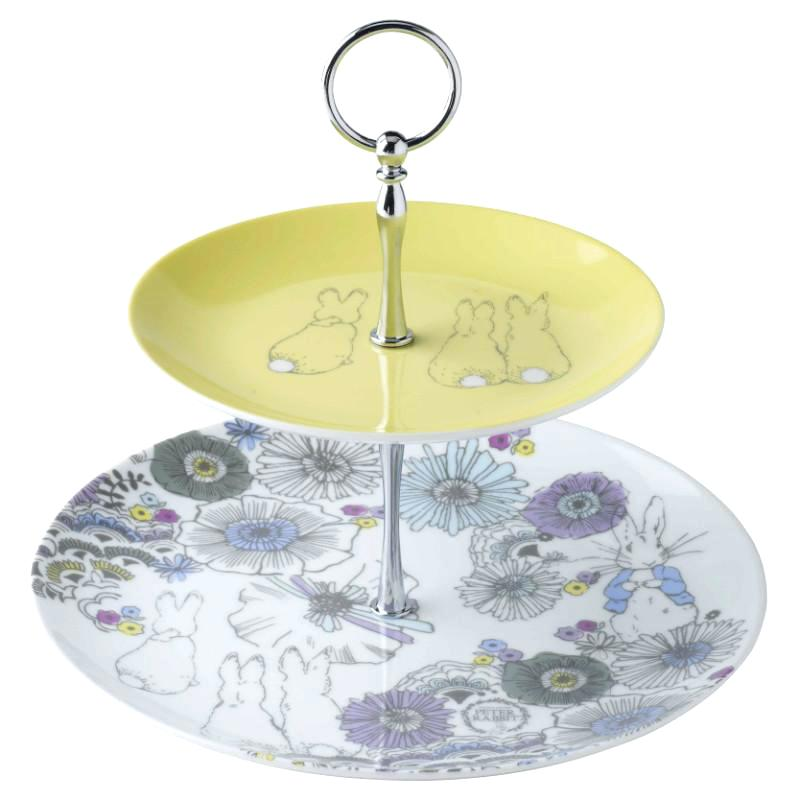 two tier cake stands peter rabbit contemporary 2 tier cake stand